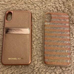 Michael Kors Iphone X cases